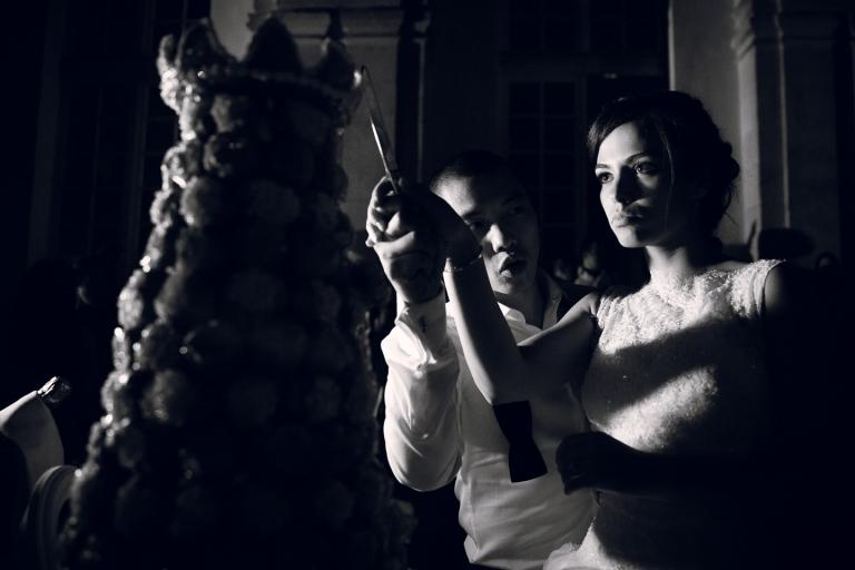 photo de pièce montée mariage