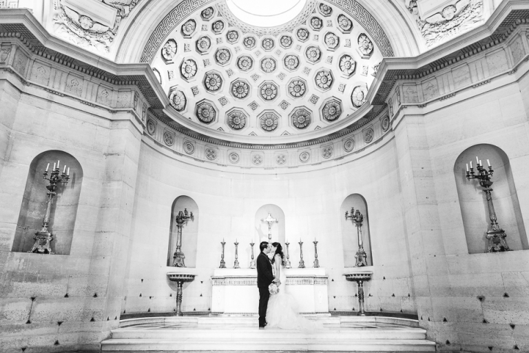 mariage chapelle expiatoire