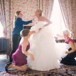 derniers préparatifs du mariage