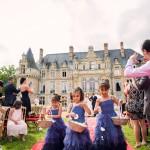 cérémonie de mariage à Esclimont
