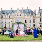 cérémonie laïque de mariage au château d'Esclimont