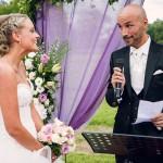 discours du marié pendant la cérémonie