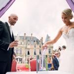 rituel de mariage : le mélange des sables