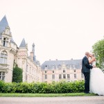 photo de couple au chateau d'Esclimont