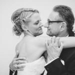 la marié suisse et son père
