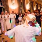 le marié venu du Maroc enflamme la piste de danse