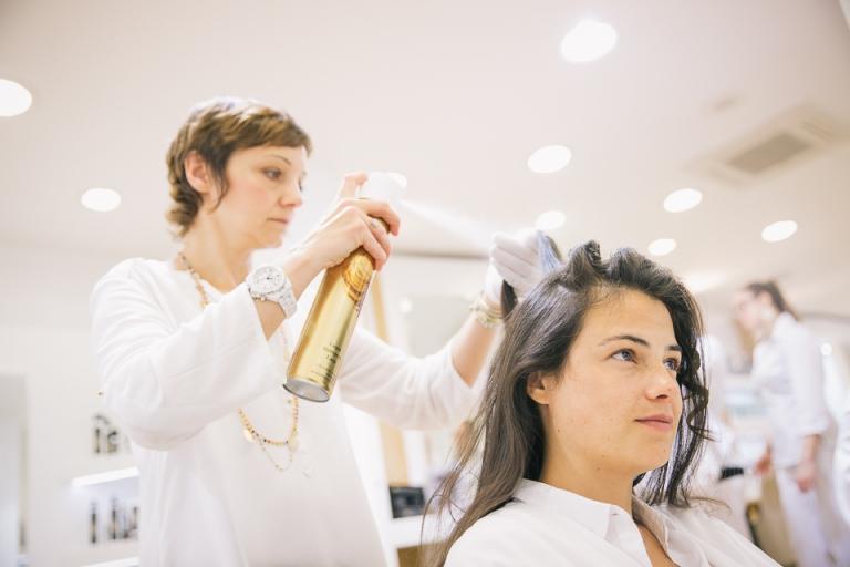 coiffure mariage chez dessange