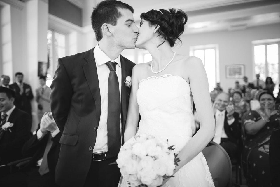 mariage le baiser
