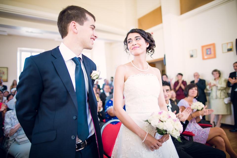 mariage à la mairie paris