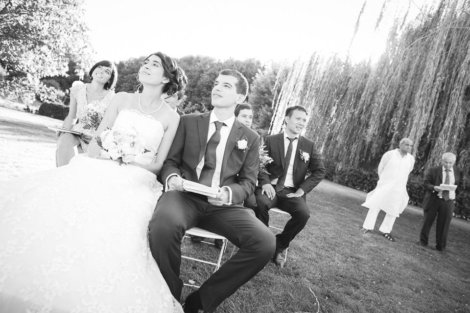 jolie photo de mariage