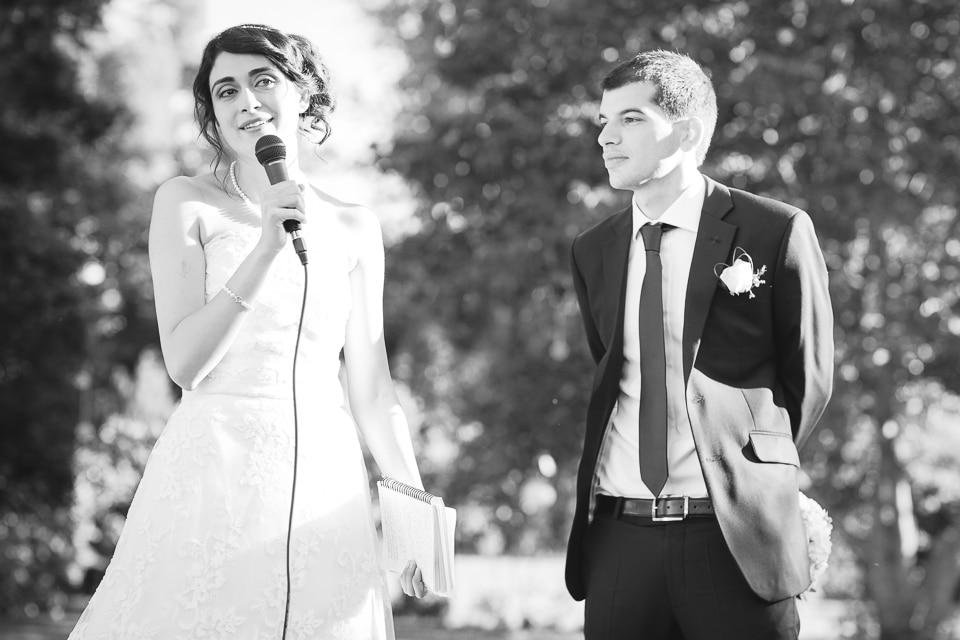 discours de la mariée paris