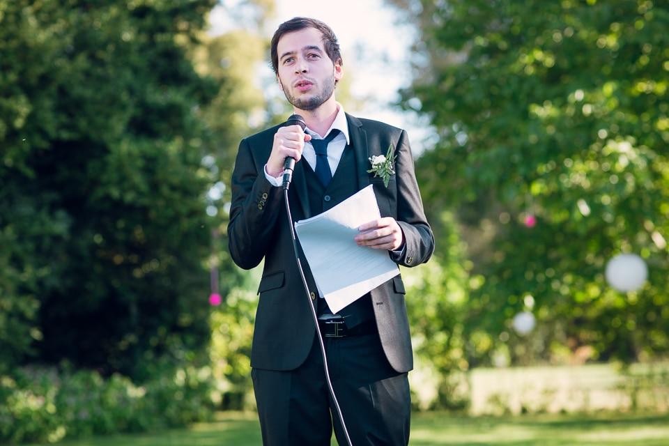 discours témoins mariage