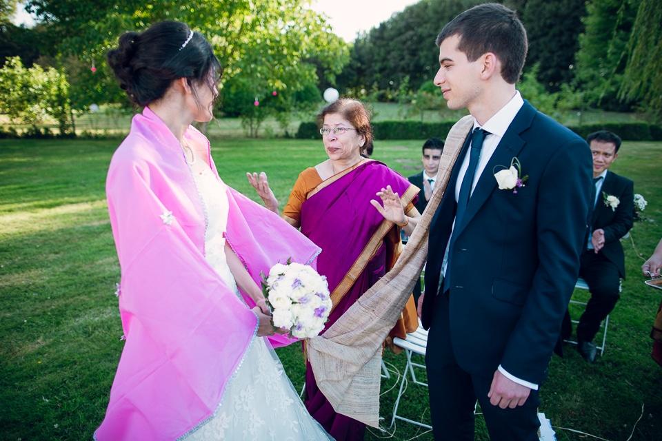 discours témoins mariage paris