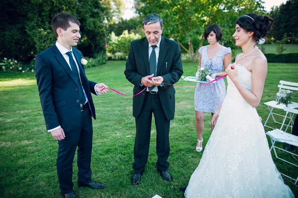 cérémonie de mariage à paris en extérieur