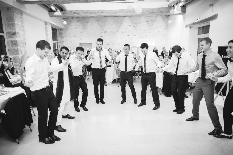 danse des hommes mariage