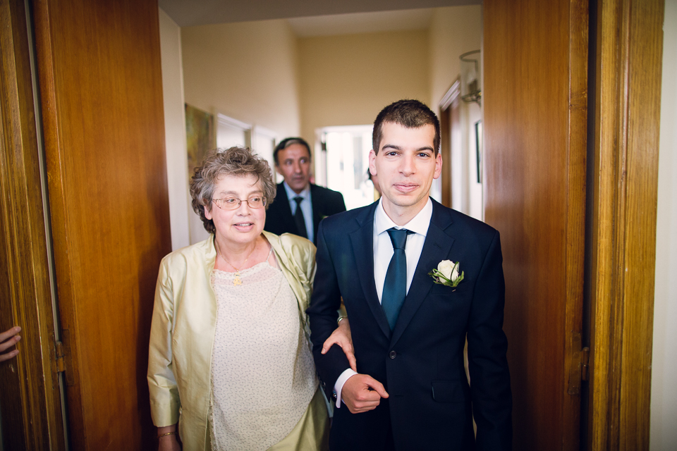 marié et sa maman
