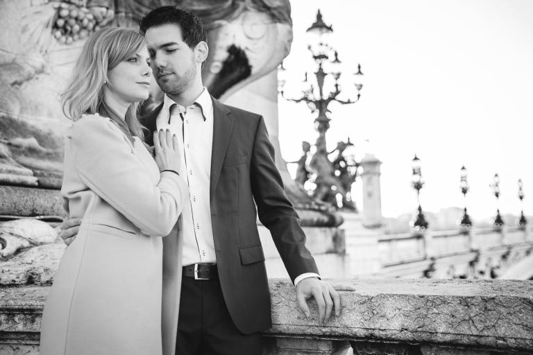 de futurs mariés à Paris